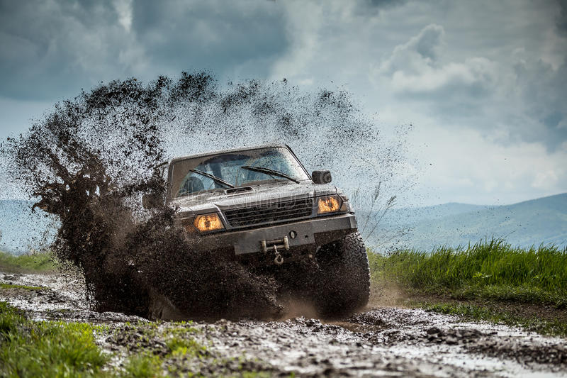 Jeep off road stock photography