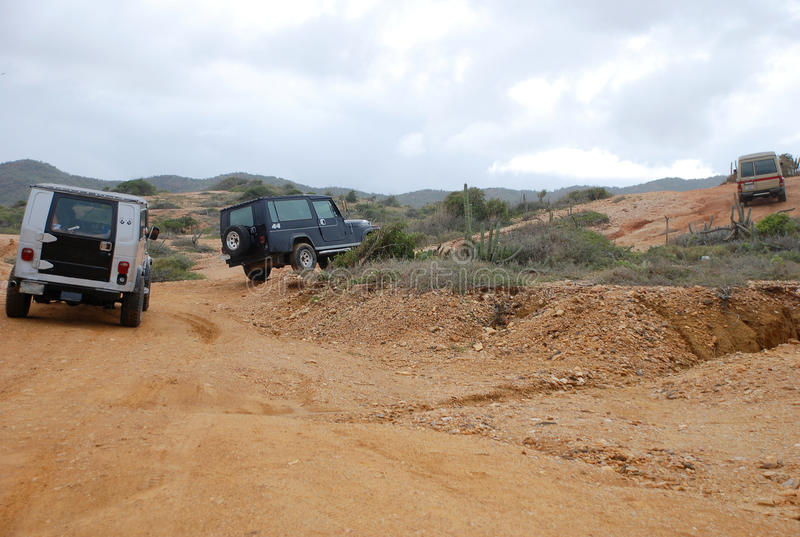 Jeep Off-road Tour On Isla Margarita Stock Images