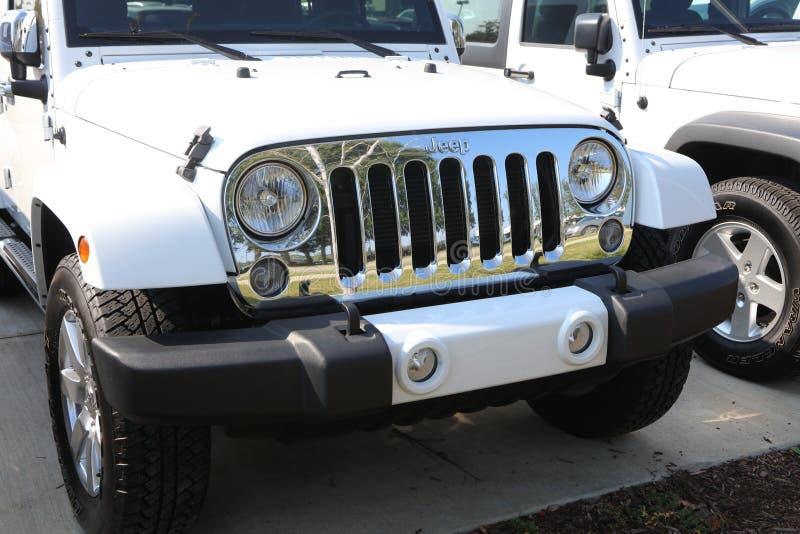 Jeep por Chrysler foto de archivo