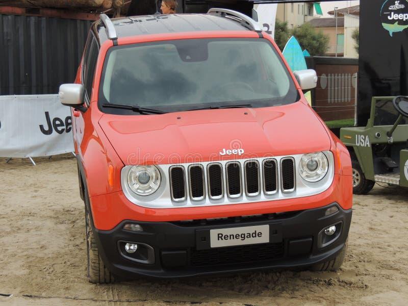 Jeep Renegade stock foto's