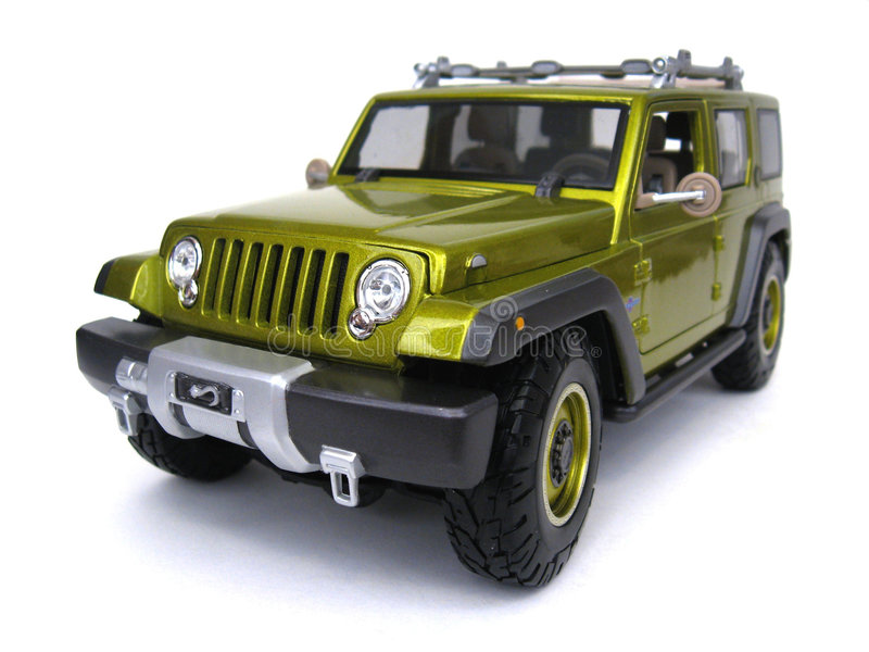 Jeep Rescue Concept stock photos