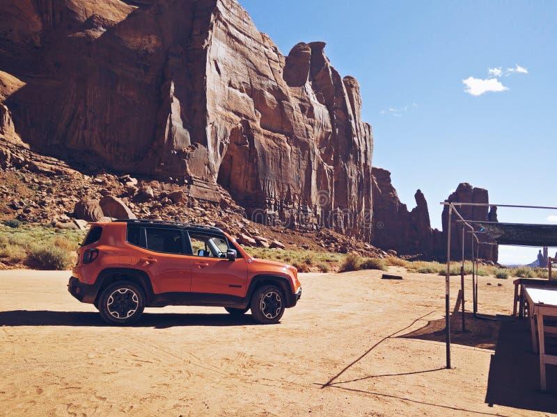 Jeep Rest Stop foto de stock