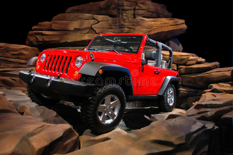 Download Jeep Rock Crawl stock image. Image of light, tough, wheel - 6768339