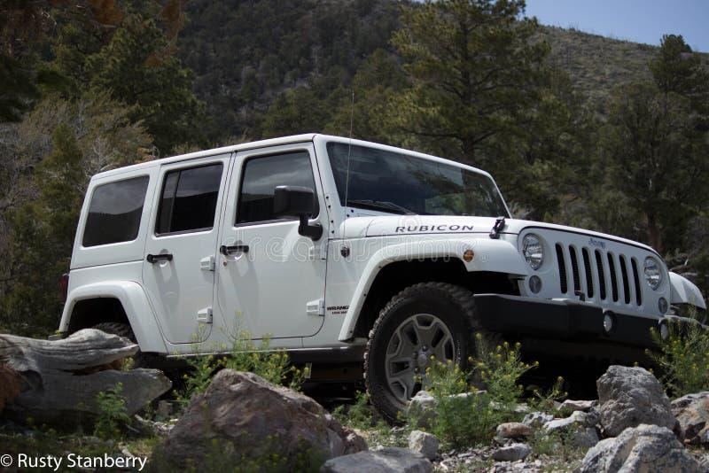 Jeep Rubicon stock foto's