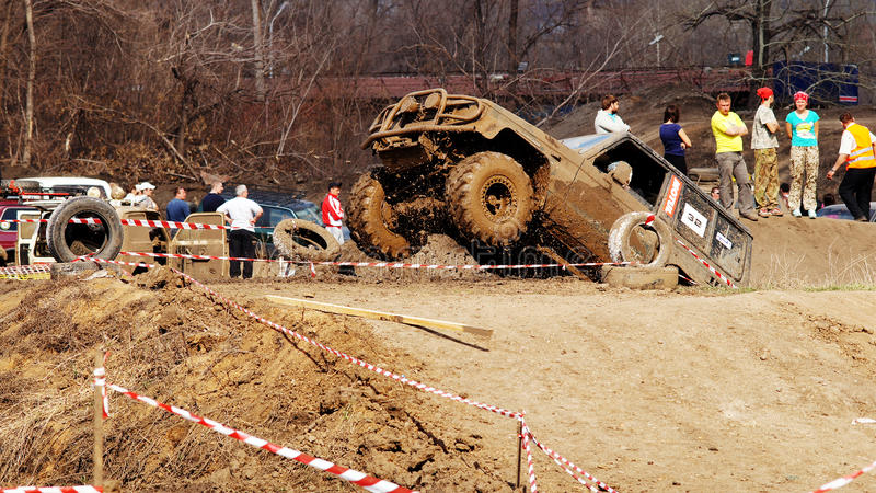 Jeep-Sprint foto de archivo