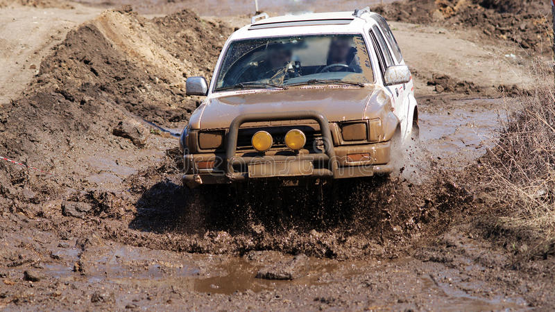 Jeep-sprint stock photos