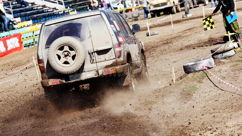 Jeep-sprint royalty free stock images