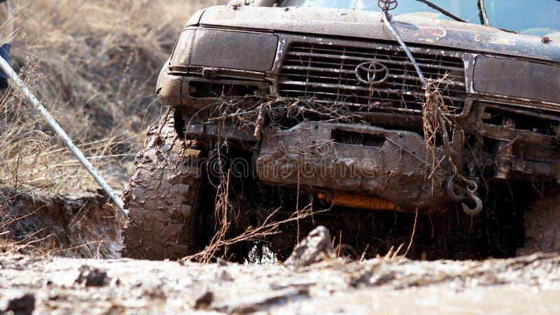 Jeep-sprint stock photo