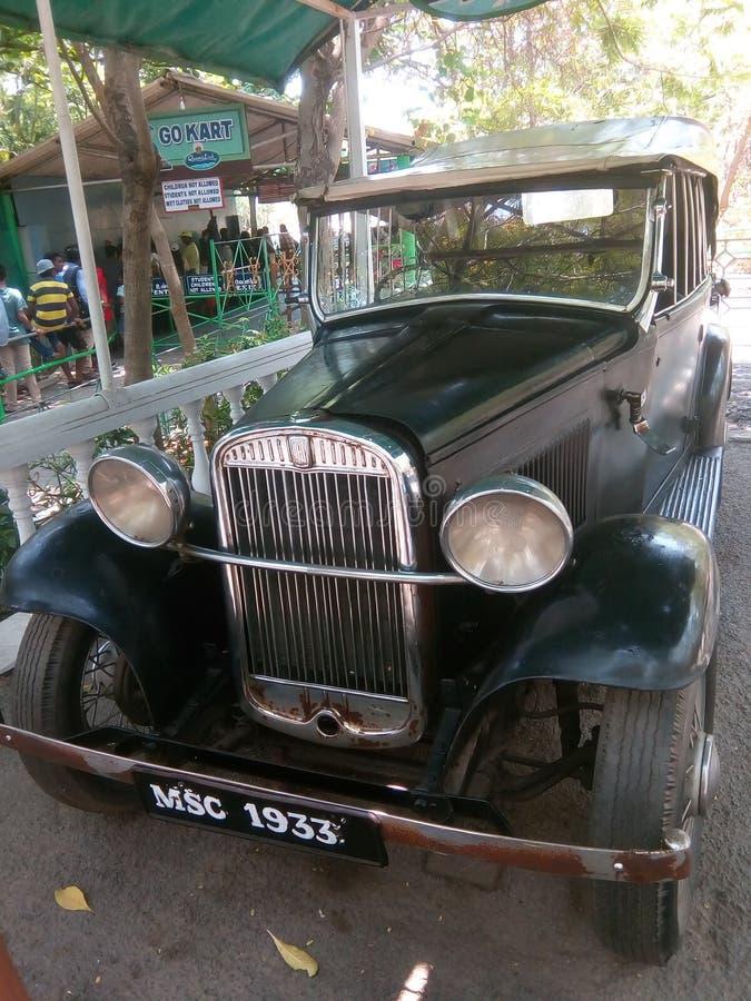 jeep stary zdjęcie stock