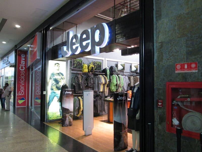 Jeep Store fotografie stock libere da diritti