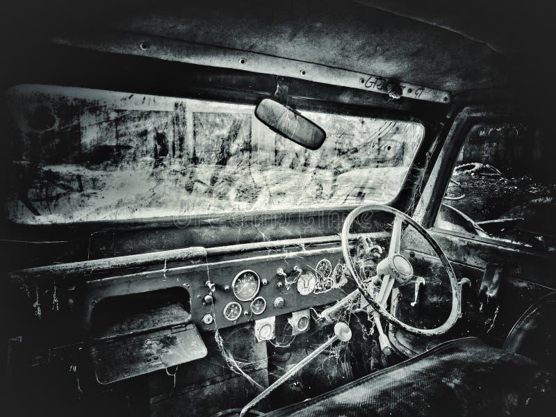 Jeep viejo foto de archivo