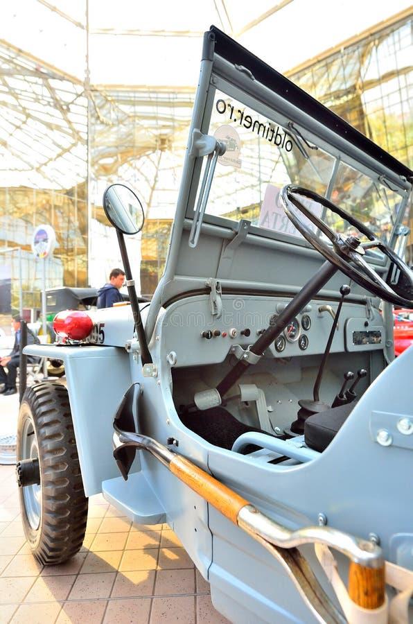 Jeep (Willis), tappningbil fotografering för bildbyråer