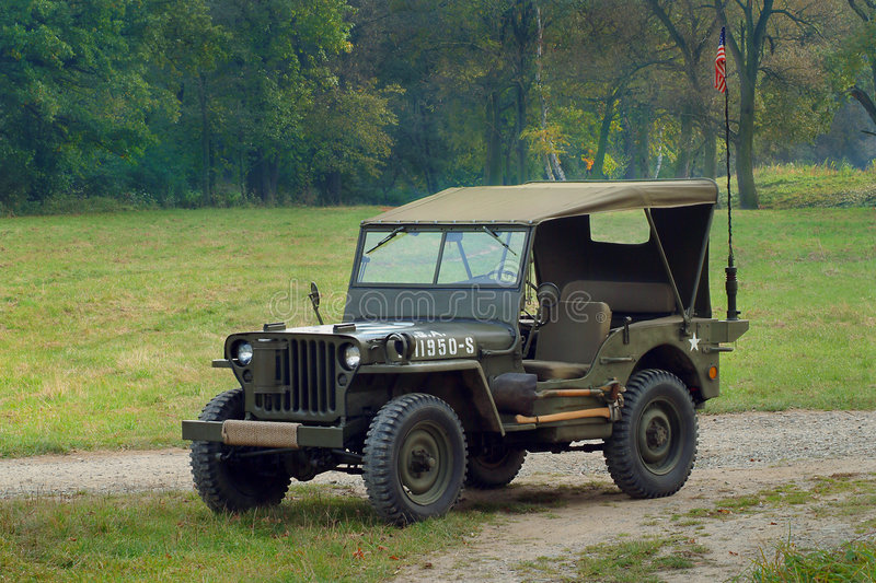 Jeep Willys stock fotografie