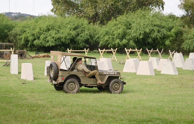 Jeep Willys 1944 royalty-vrije stock foto
