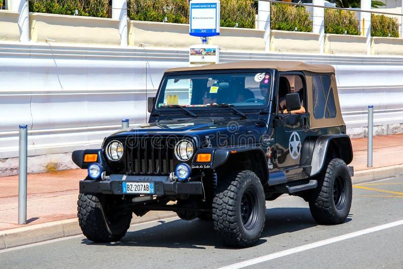 Jeep Wrangler lizenzfreies stockbild