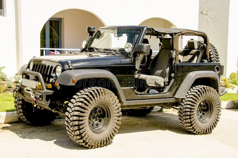 Jeep Wrangler immagine stock libera da diritti