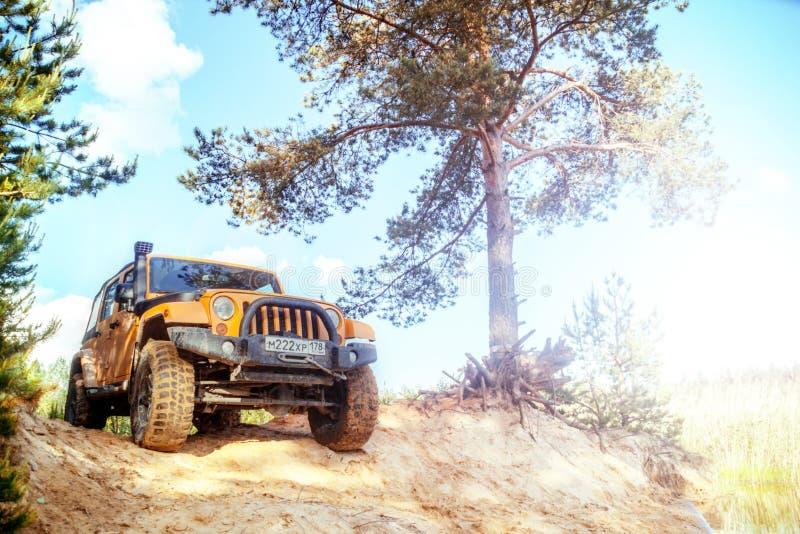 Jeep Wrangler imágenes de archivo libres de regalías