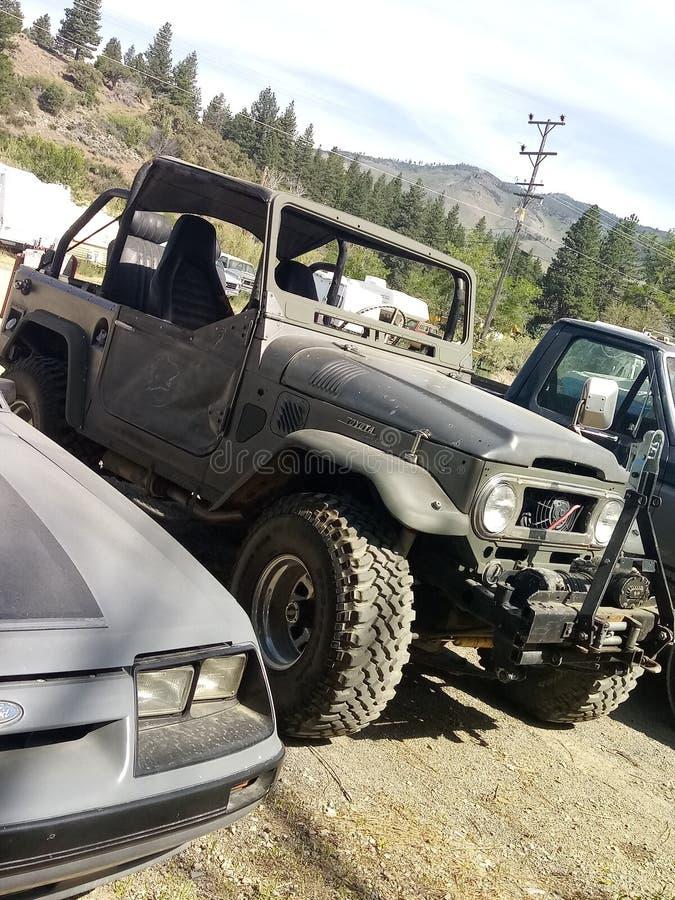 jeep fotografia stock
