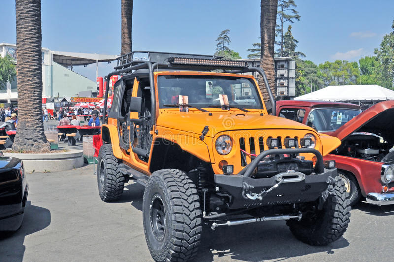 Jeep Wrangler Unlimited fotografie stock
