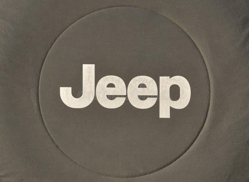 Jeep-Zeichen lizenzfreie stockbilder
