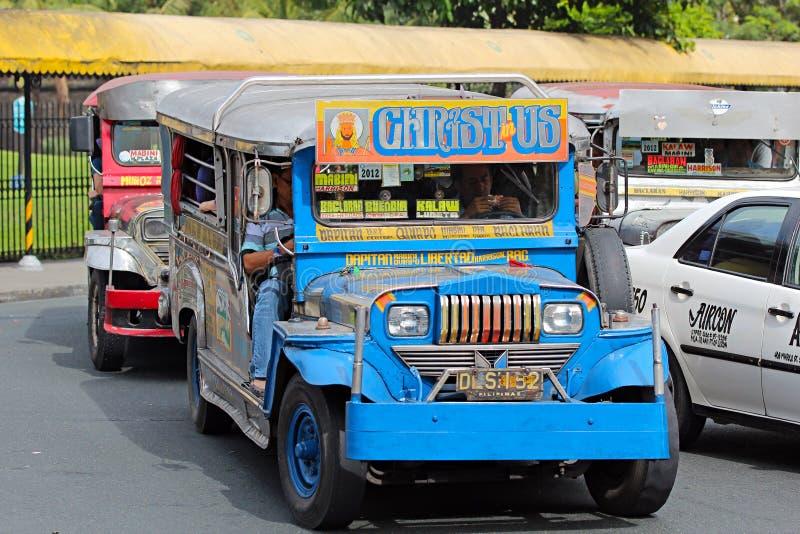 Jeepney fotos de stock