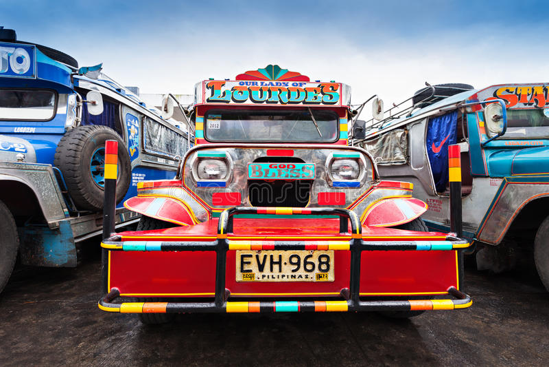 Jeepney photographie stock