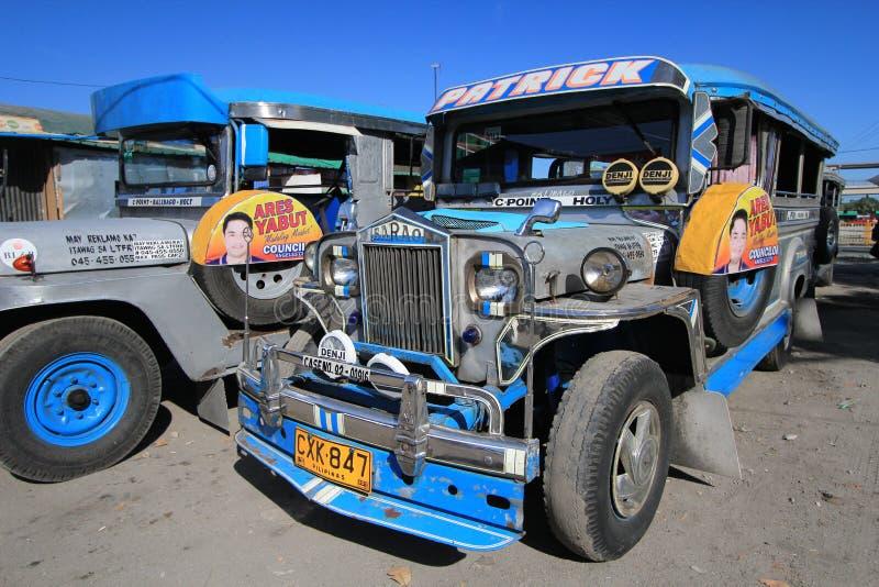 Jeepney foto de stock