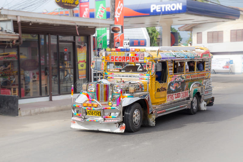 Jeepney stockfotos