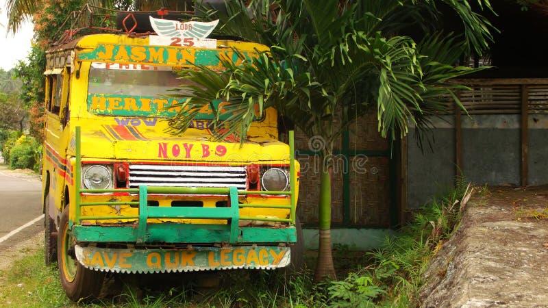 Jeepney bil arkivfoton