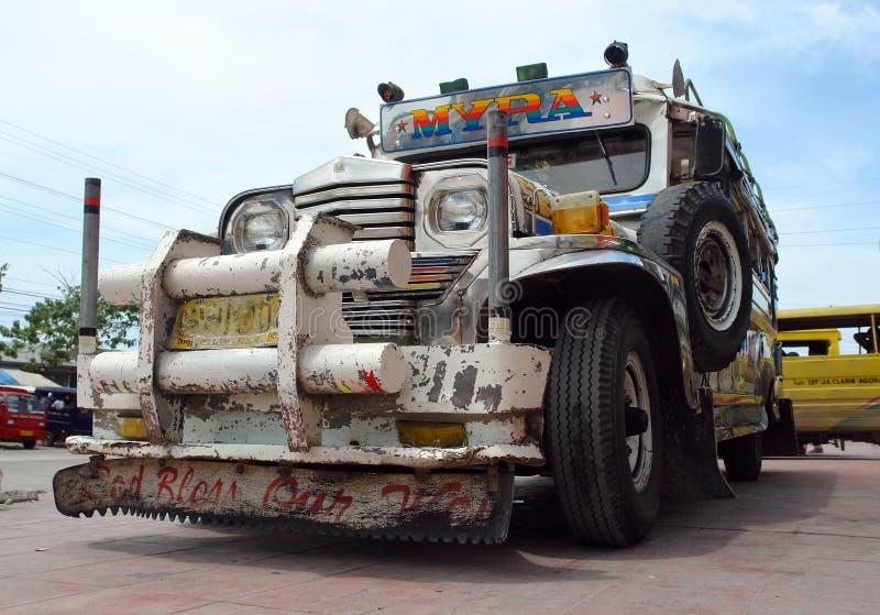 jeepney filipiny zdjęcie stock