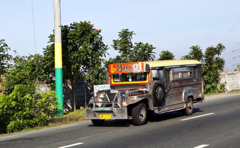 Jeepney in Filippine immagini stock