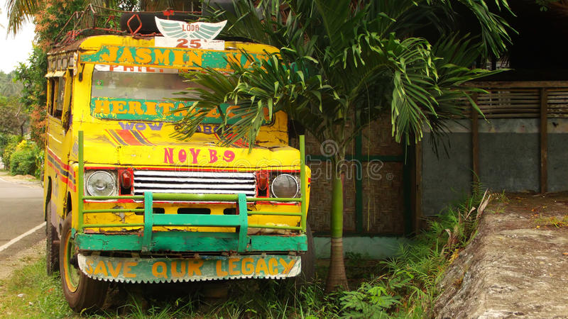 Jeepney samochód zdjęcia stock