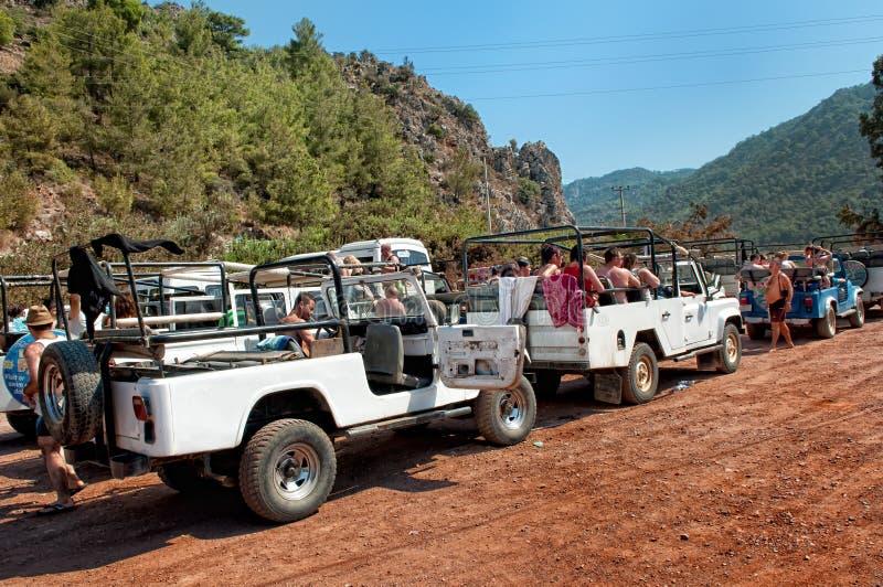 Jeepsafari lizenzfreie stockfotografie