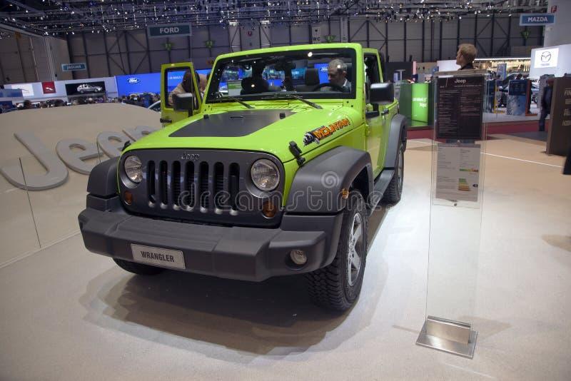 jeepwrangler fotografering för bildbyråer
