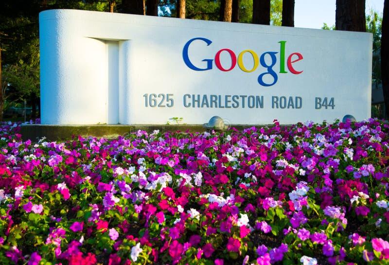 Jefaturas de Google imágenes de archivo libres de regalías