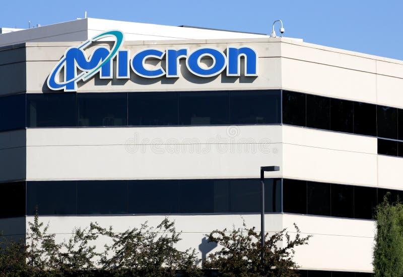 Jefaturas de la tecnología del micrón imágenes de archivo libres de regalías