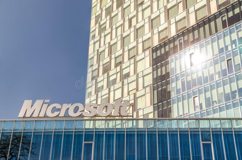 Jefaturas de Microsoft imagen de archivo libre de regalías
