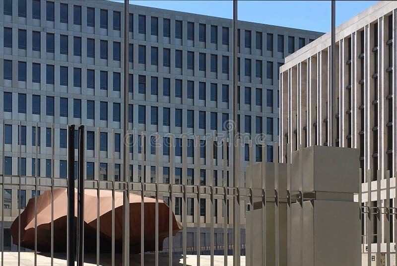 Jefaturas del BND en Berlín - Alemania imagen de archivo