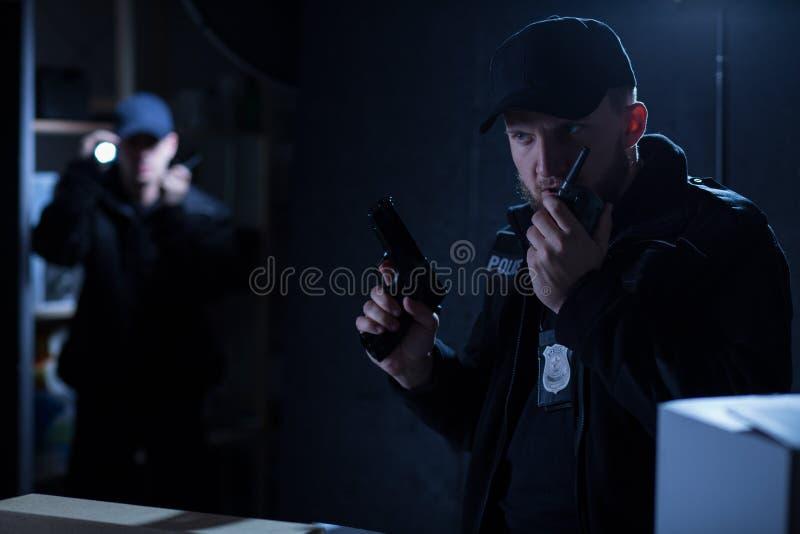 Jefe de policía fotografía de archivo