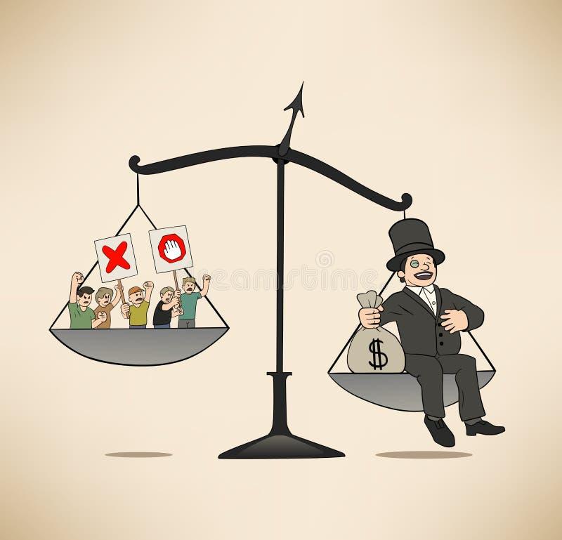 Jefe del multimillonario libre illustration