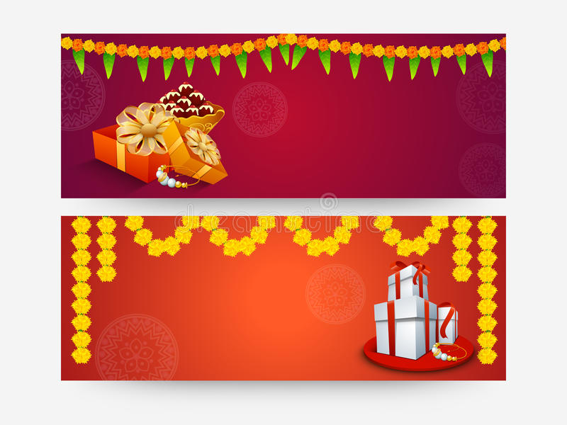 Jefe o bandera del web para Raksha Bandhan libre illustration