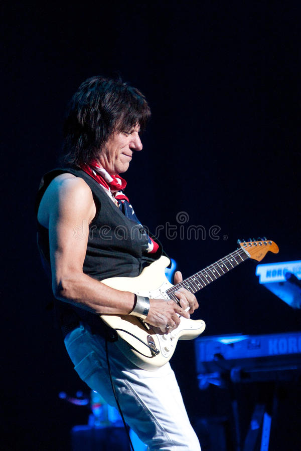 Jeff Beck royalty free stock images