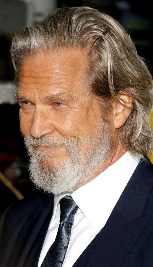 Jeff Bridges fotografia de stock