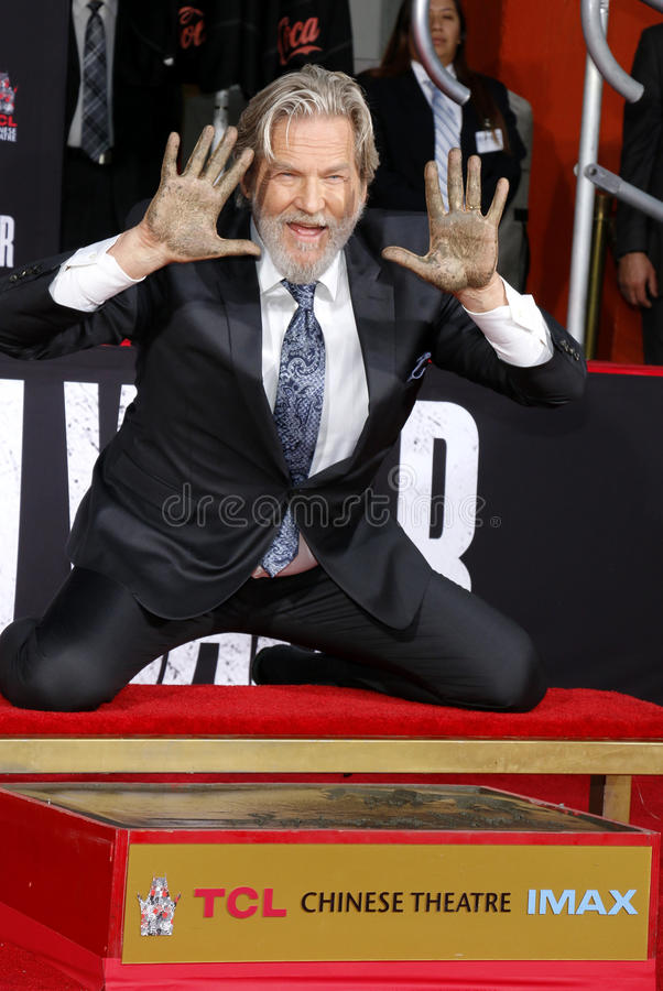 Jeff Bridges imagem de stock royalty free