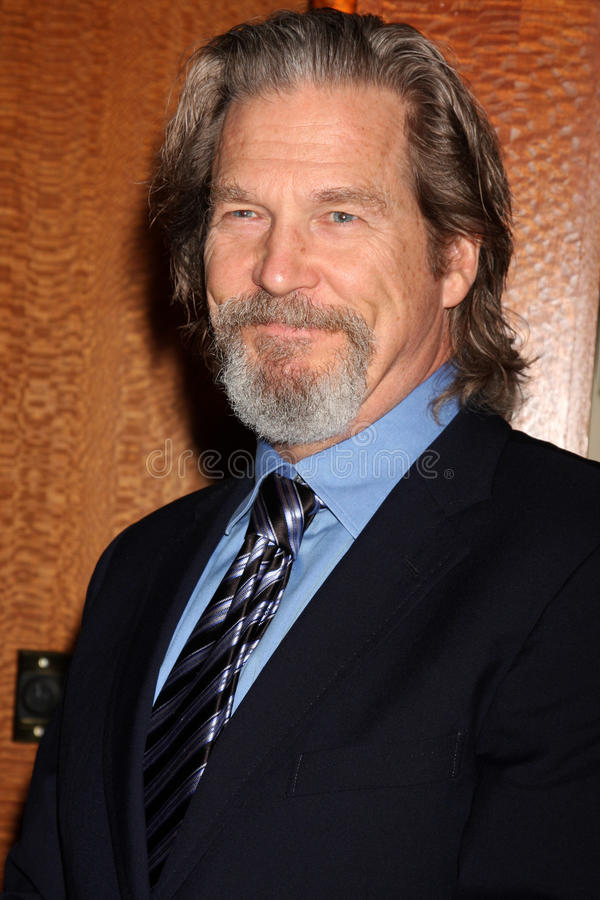 Jeff Bridges. Arriving at the Ninth Annual AARP the Magazine`s Movies for Grownups Awards Gala Beverly Wilshire Hotel Beverly Hills, CA February 16, 2010 � royalty free stock photography