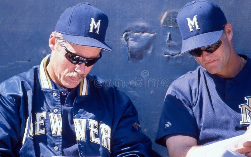Jeff Cirillo, Milwaukee Brewers stockfotografie