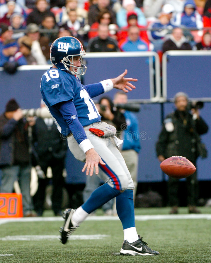 Jeff Feagles. New York Giants punter Jeff Feagles. (Image taken from color slide stock photography
