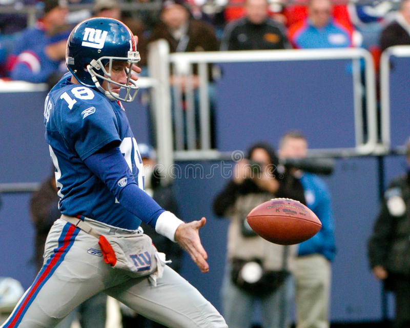 Jeff Feagles. New York Giants punter Jeff Feagles. (Image taken from color slide stock images