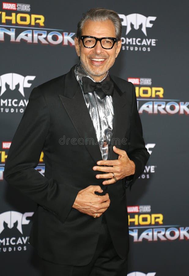 Jeff Goldblum fotografia de stock royalty free