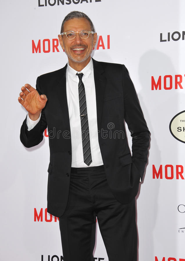 Jeff Goldblum stockfoto